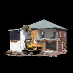 снос домов, построек